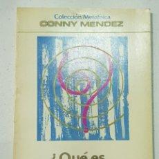 Libros de segunda mano: QUE ES LA METAFISICA - CONNY MENDEZ - TDK140. Lote 179204711