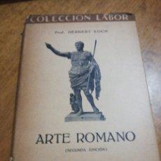 Libros de segunda mano: ARTE ROMANO, HERBERT KOCH. Lote 179210102