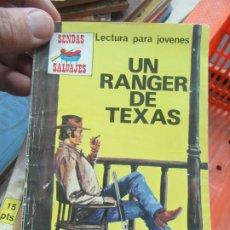 Libros de segunda mano: UN RANGER DE TEXAS. N.1111-599. Lote 179224335