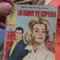Libros de segunda mano: MI AMOR TE ESPERA. N.1111-600. Lote 179224476
