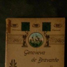 Libros de segunda mano: GENOVEVA DE BRAVANTE-CRISTÓBAL SCHMID-(LIBRERIA MONTSERRAT-1905). Lote 179237796