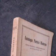 Libros de segunda mano: ANTOLOGÍA POÉTICA MODERNA-AGUSTÍN DEL SAZ-EDITORIAL BARNA-210 PAGINAS. Lote 179238388