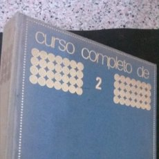 Libros de segunda mano: CURSO COMPLETO DE DIBUJO Y PINTURA-JOSÉ MARIA PARRAMON-45 EJERCICIOS PRACTICOS-. Lote 179238706
