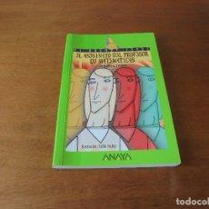 Libros de segunda mano: EL ASESINATO DEL PROFESOR DE MATEMATICAS (SIERRA Y FABRA). Lote 179251245