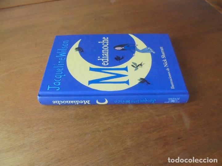 Libros de segunda mano: MEDIANOCHE (ACQUELINE WILSON). ILUSTRACIONES DE NICK SHARRATT - Foto 2 - 179251935