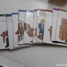 Libros de segunda mano: SOLEDAD ORTEGA ARRUTI MÚSICA CLÁSICA PARA NIÑOS (12 EJEMPLARES) Y96522. Lote 179255030