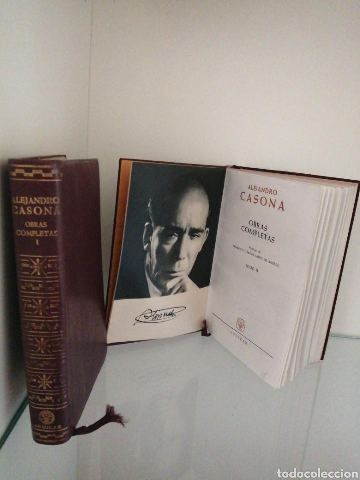 ALEJANDRO CASONA OBRAS COMPLETAS (Libros de Segunda Mano - Bellas artes, ocio y coleccionismo - Otros)