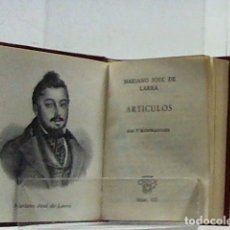 Libros de segunda mano: MARIANO JOSE DE LARRA ... ARTICULOS ... CRISOLIN 25 .... Lote 195331613