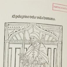 Libros de segunda mano: EL PEREGRINO DE LA VIDA HUMANA,FACSIMIL.NUMERADO. Lote 179330641