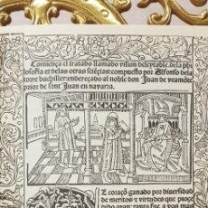 Libros de segunda mano: VISION DELEITABLE DE LA FILOSOFIA Y DE LAS OTRAS CIENCIAS,FACSIMIL.. Lote 179331030