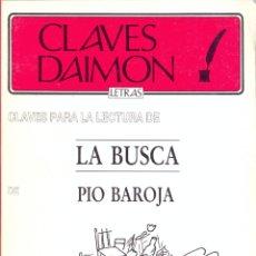 Libros de segunda mano: CLAVES DIAMON Nº 23 CLAVES PARA LA LECTURA DE LA BUSCA ED. PUNTO CLAVES PAG.107 AÑO 1987 LL3195. Lote 179346015