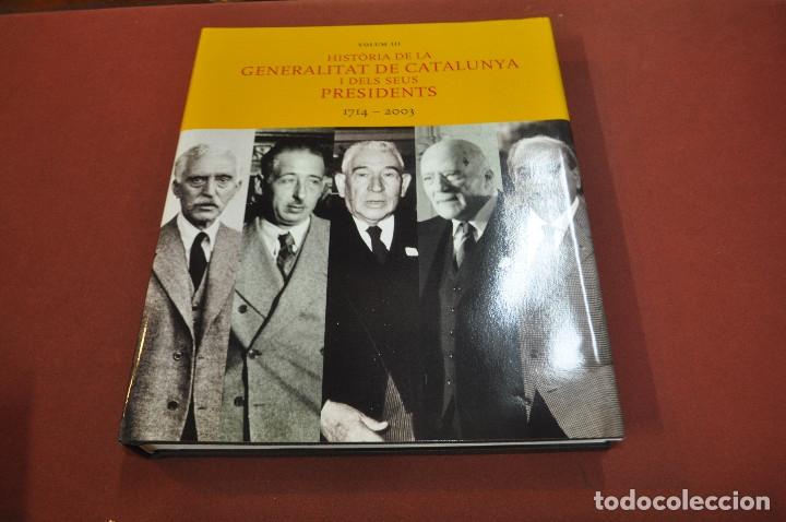 Libros de segunda mano: història de la generalitat de catalunya i els seus presidents 1714-2003 - HGB - Foto 2 - 179380092