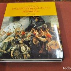 Libros de segunda mano: HISTÒRIA DE LA GENERALITAT DE CATALUNYA I ELS SEUS PRESIDENTS 1518-1714 - HGB. Lote 179380190
