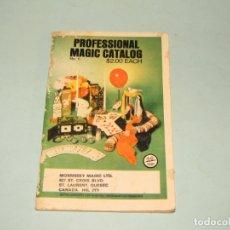 Libros de segunda mano: ANTIGUO CATÁLOGO PROFESIONAL DE MAGIA EN INGLES DE 1980. Lote 179391293