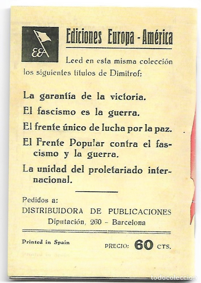 Libros de segunda mano: LA GARANTIA DE LA VICTORIA 1938 - REPRODUCCIÓN AÑOS 80-12x8- 37 PG. - LEER DESCRIP - Foto 2 - 179393841