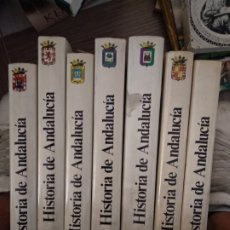 Libros de segunda mano: HISTORIA DE ANDALUCIA - 7 TOMOS. Lote 179398966