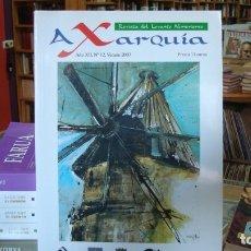 Libros de segunda mano: AXARQUÍA. REVISTA DEL LEVANTE ALMERIENSE, Nº 12. ALMERÍA. Lote 179528403