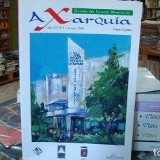 Libros de segunda mano: AXARQUÍA. REVISTA DEL LEVANTE ALMERIENSE, Nº 11. ALMERÍA. Lote 179528675
