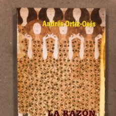 Libros de segunda mano: LA RAZÓN AFECTIVA (ARTE, RELIGIÓN Y CULTURA). ANDRÉS ORTIZ-OSÉS. EDITORIAL SAN ESTEBAN 2000. Lote 179532177