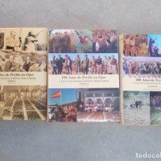 Libros de segunda mano: 100 AÑOS DE PERDIZ EN OJEO 3 TOMOS ROBERTO MEDEM SANJUÁN. Lote 179626167