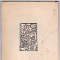 Libros de segunda mano: SELECCION DE TRABAJOS HISTORIA Y DERECHO DE BARCELONA - PEDRO VOLTES BOU - NAVIDAD 1959. Lote 179839407