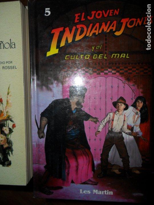 EL JOVEN INDIANA JONES Y EL CULTO DEL MAL, LES MARTIN, ED. MOLINO (Libros de Segunda Mano - Literatura Infantil y Juvenil - Otros)