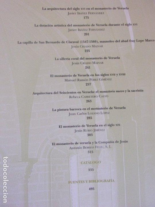 Libros de segunda mano: TESOROS DE VERUELA. LEGADO DE UN MONASTERIO CISTERCIENSE / 2006. DIPUTACIÓN DE ZARAGOZA - Foto 3 - 179946276