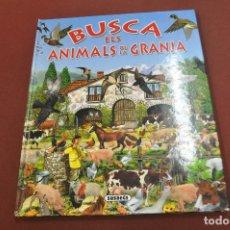 Libros de segunda mano: BUSCA ELS ANIMALS DE LA GRANJA - JUF. Lote 179949943