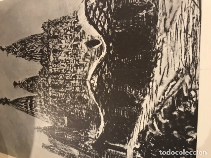 Libros de segunda mano: Anti Gaudí Dali 1976.Antonio Gaudí Proyecto para la iglesia Colonia Guell Santa Coloma de Cervelló - Foto 4 - 180092773