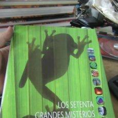 Libros de segunda mano: LOS SETENTA GRANDES MISTERIOS DEL MUNDO NATURAL, MICHAEL J. BENTON. ART.548-346. Lote 180098383