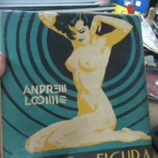 Libros de segunda mano: DIBUJO DE FIGURA EN TODO SU VALOR, ANDREW LOOMIS. (AÑO 1947) ART.548-347. Lote 180098535