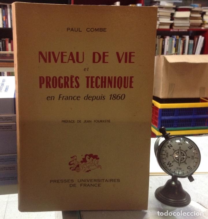 NIVEAU DE VIE ET PROGRES TECHNIQUE EN FRANCE DEPUIS 1860 (Libros de Segunda Mano - Ciencias, Manuales y Oficios - Otros)