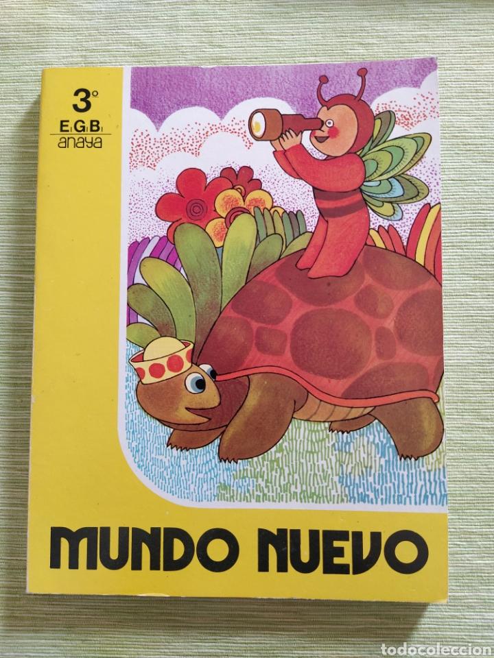 MUNDO NUEVO 3° EGB ANAYA 1983 NUEVO ( LIBRO DE LECTURA ) (Libros de Segunda Mano - Literatura Infantil y Juvenil - Otros)