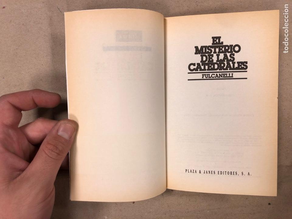 Libros de segunda mano: EL MISTERIO DE LAS CATEDRALES. FULCANELLI: PLAZA & JANÉS EDITORES 1993. 201 PÁGINAS. - Foto 2 - 180118738