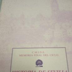 Libros de segunda mano: HISTORIA DE SEVILLA -VOLUMEN TERCERO EL SIGLO XX. Lote 180137677