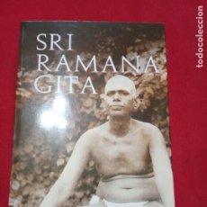 Libros de segunda mano: SRI RAMANA GITA.. Lote 180143383