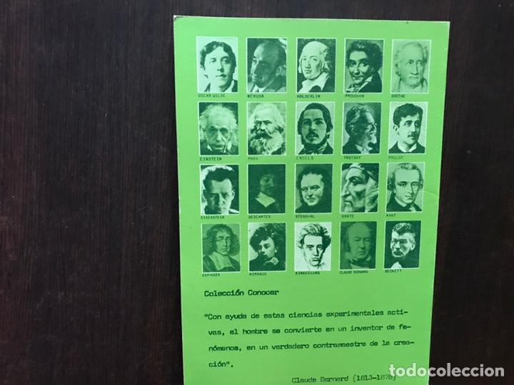 Libros de segunda mano: Conocer Claude Bernard y su obra. Oriol Martí. - Foto 2 - 180150842