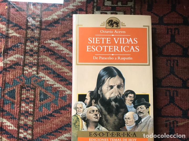 SIETE VIDAS ESOTÉRICAS. BUEN ESTADO (Libros de Segunda Mano - Parapsicología y Esoterismo - Otros)