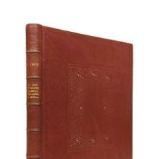 Libros de segunda mano: EL ARTE TIPOGRÁFICO EN VALENCIA, MALLORCA Y MURCIA DURANTE EL SIGLO XV / FRANCISCO VINDEL / 1946 . Lote 180163032