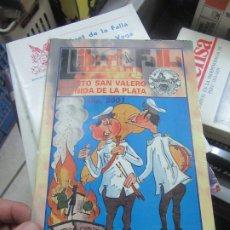 Libros de segunda mano: LLIBRET DE FALLA HUERTO SAN VALERO AVENIDA DE LA PLATA, AÑO 2001. L.14508-545. Lote 180171943