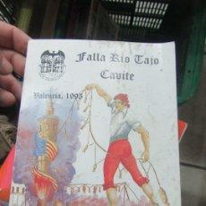 Libros de segunda mano: LIBRE FALLA RÍO TAJO, VALENCIA 1995. L.14508-547. Lote 180172283