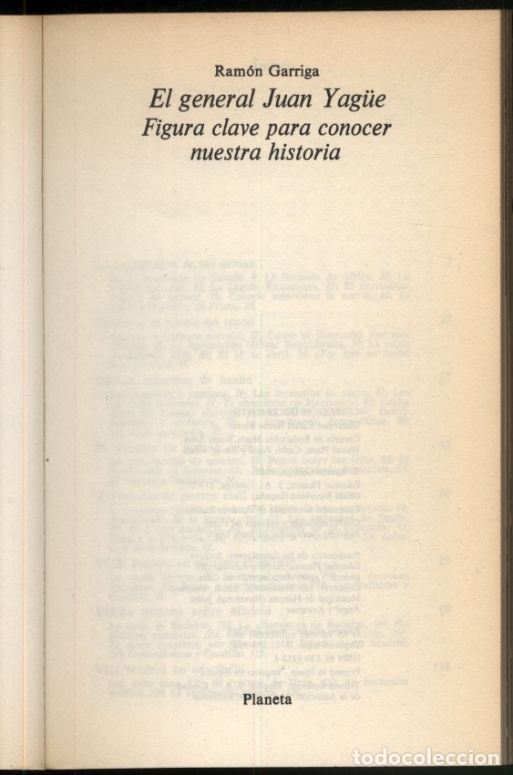 Libros de segunda mano: EL GENERAL JUAN YAGÜE .- RAMON GARRIGA - Foto 2 - 180174211
