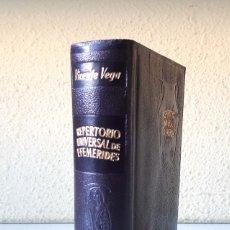 Libros de segunda mano: ENSAYO DE UN REPERTORIO UNIVERSAL DE EFEMÉRIDES / VICENTE VEGA / AGUILAR 1949 (1ª EDICIÓN). Lote 180181682