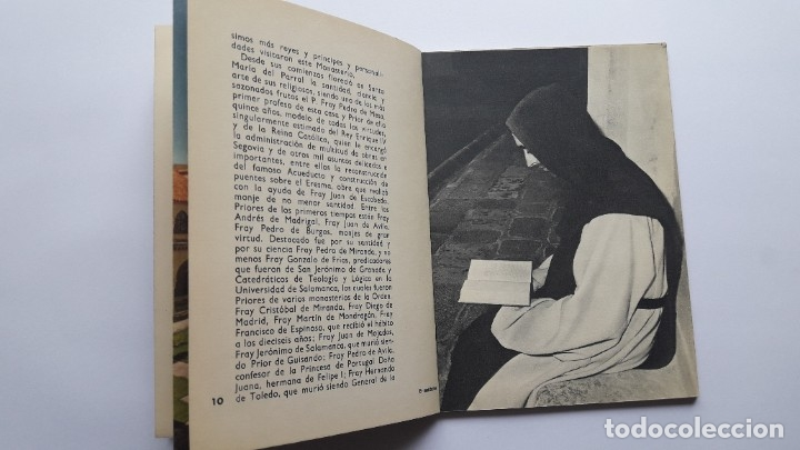 Libros de segunda mano: EL MONASTERIO DE SANTA Mª DEL PARRAL Y SUS MONJES JERÓNIMOS, 1965 - Foto 5 - 180209341