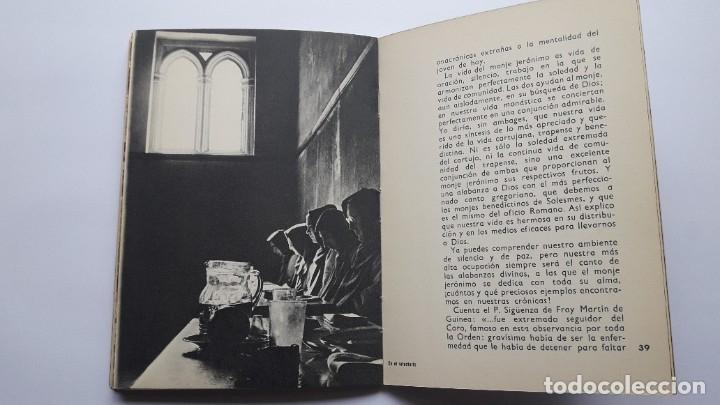 Libros de segunda mano: EL MONASTERIO DE SANTA Mª DEL PARRAL Y SUS MONJES JERÓNIMOS, 1965 - Foto 7 - 180209341
