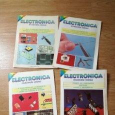Libros de segunda mano: CURSO DE ELECTRÓNICA PRÁCTICA DE NUEVA LENTE. Lote 180230576