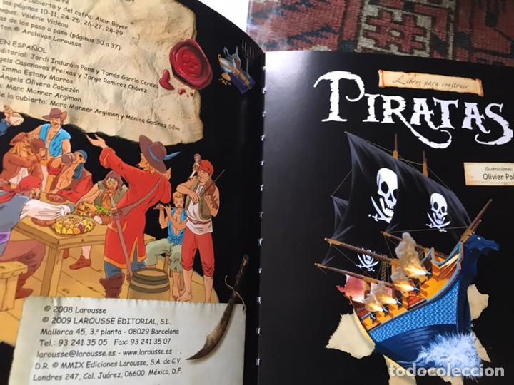 Libros de segunda mano: Piratas. Libros para construir. Con las piezas . Falta un componente . Ver fotos. - Foto 3 - 180245226