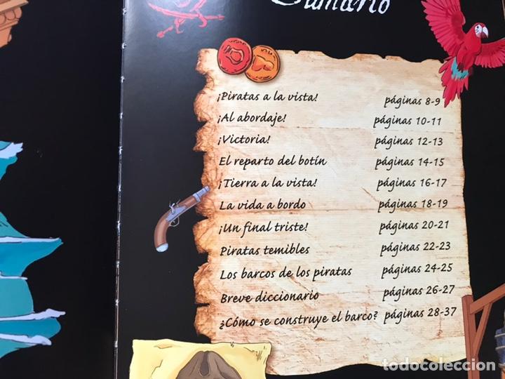 Libros de segunda mano: Piratas. Libros para construir. Con las piezas . Falta un componente . Ver fotos. - Foto 4 - 180245226