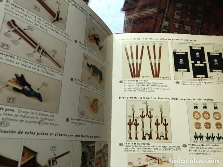 Libros de segunda mano: Piratas. Libros para construir. Con las piezas . Falta un componente . Ver fotos. - Foto 5 - 180245226