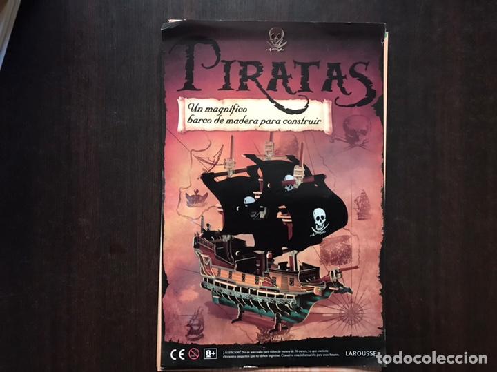 Libros de segunda mano: Piratas. Libros para construir. Con las piezas . Falta un componente . Ver fotos. - Foto 7 - 180245226
